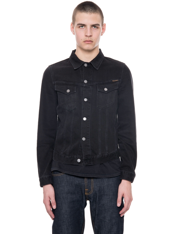 Billy Black Rinsed denim-jackets