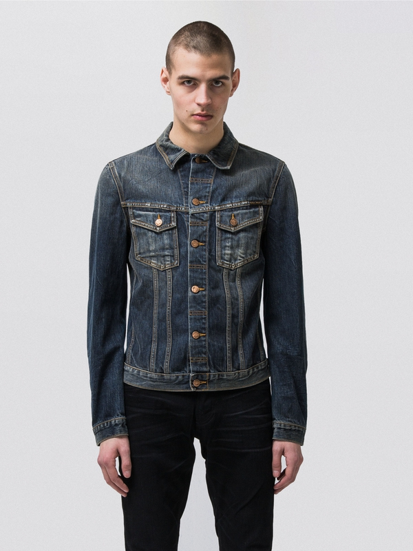 Billy Dark Authentic prewashed denim-jackets