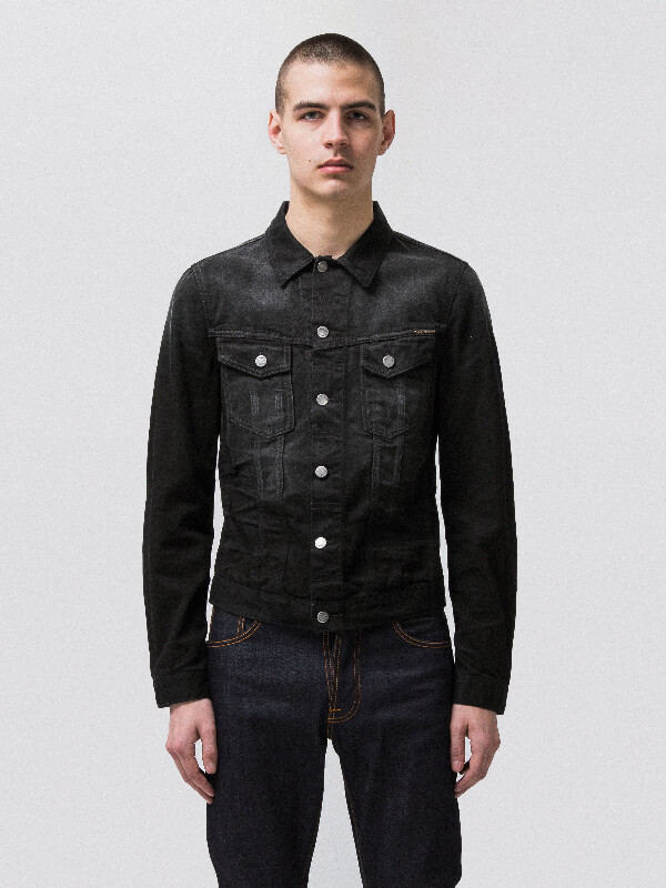 Billy Dark Shist Denim prewashed denim-jackets