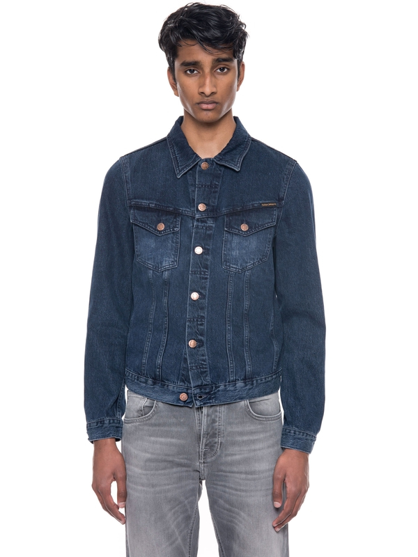 Billy Deep Indigo denim-jackets