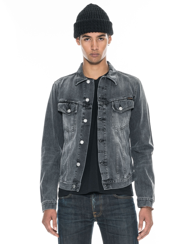Billy Desolation Grey Denim prewashed denim-jackets