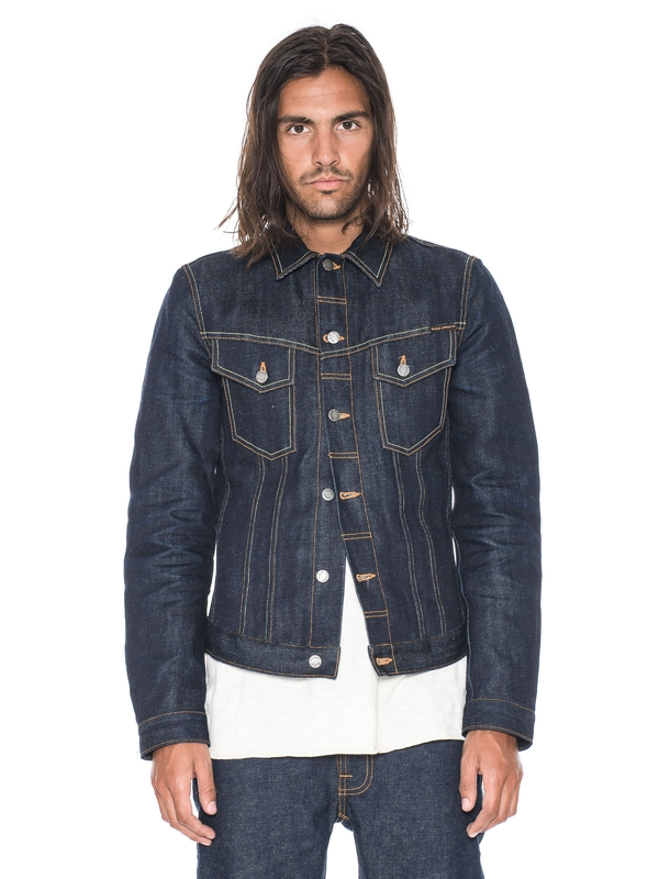 Billy Dry Hemp Selvage dry denim-jackets selvage