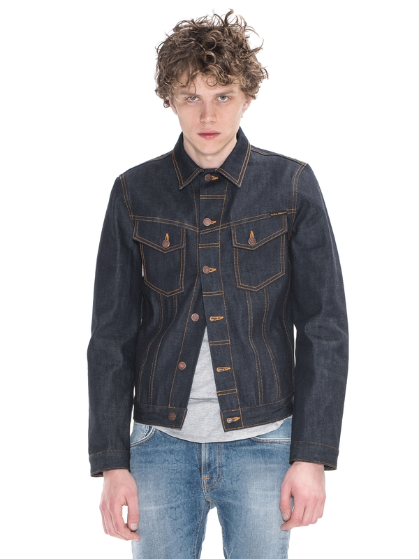 Billy Dry Ring Denim dry denim-jackets