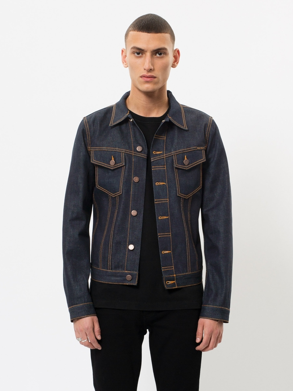 Billy Dry Ring dry denim-jackets