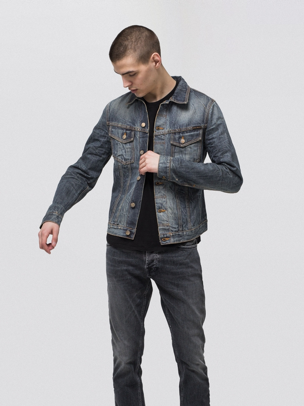 Billy Joakim Replica prewashed denim-jackets selvage