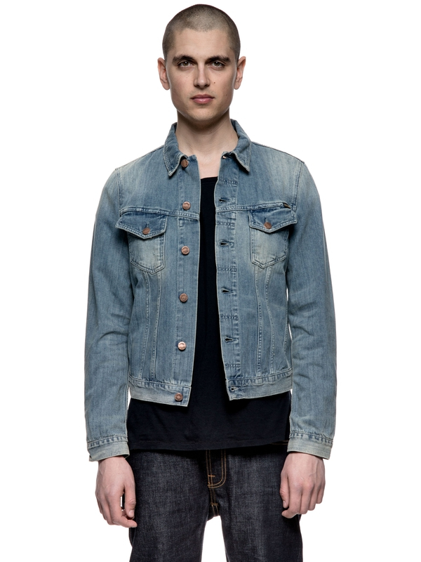 Billy Light Shades Denim prewashed denim-jackets