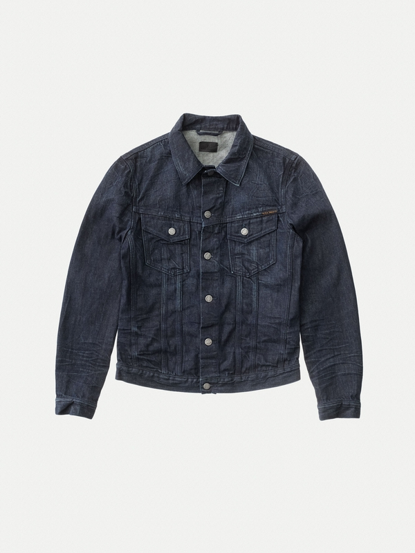 Billy Nearly Dry prewashed denim-jackets