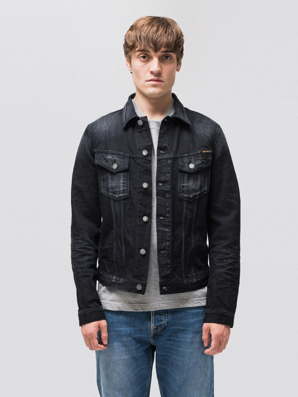Billy Rebel Black black denim-jackets