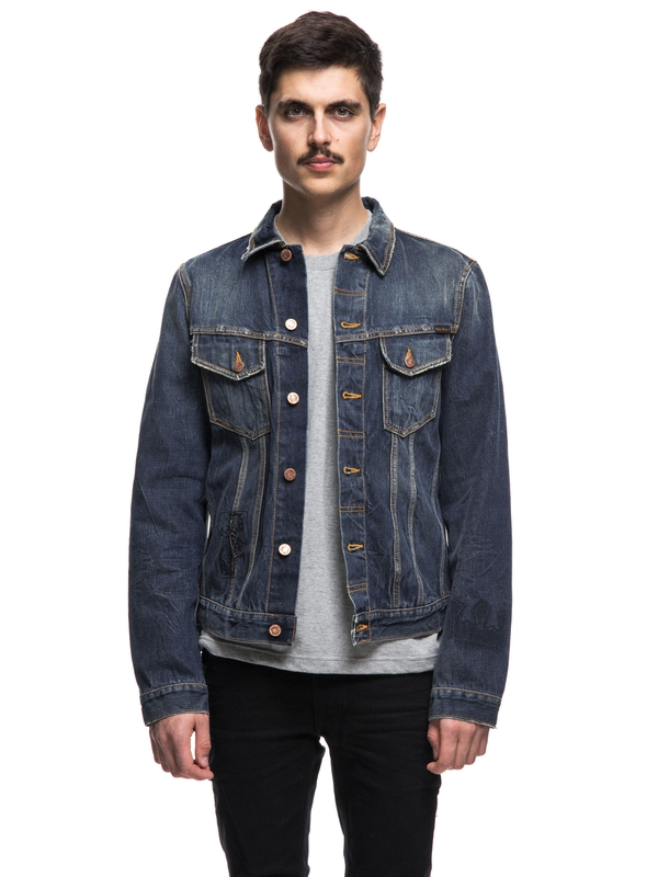 Billy Scribble Denim Denim prewashed denim-jackets