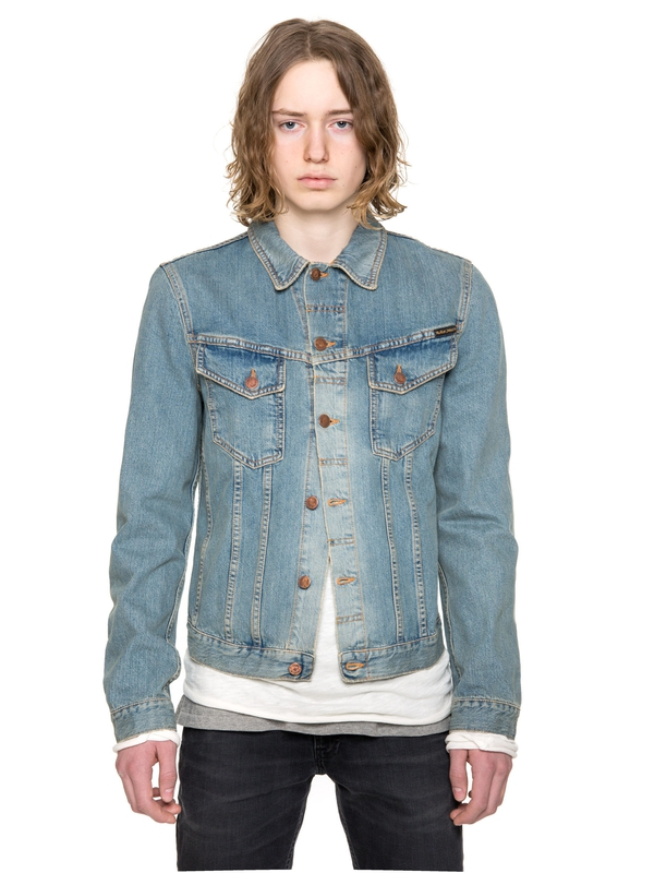 Billy Worn Clean Denim prewashed denim-jackets