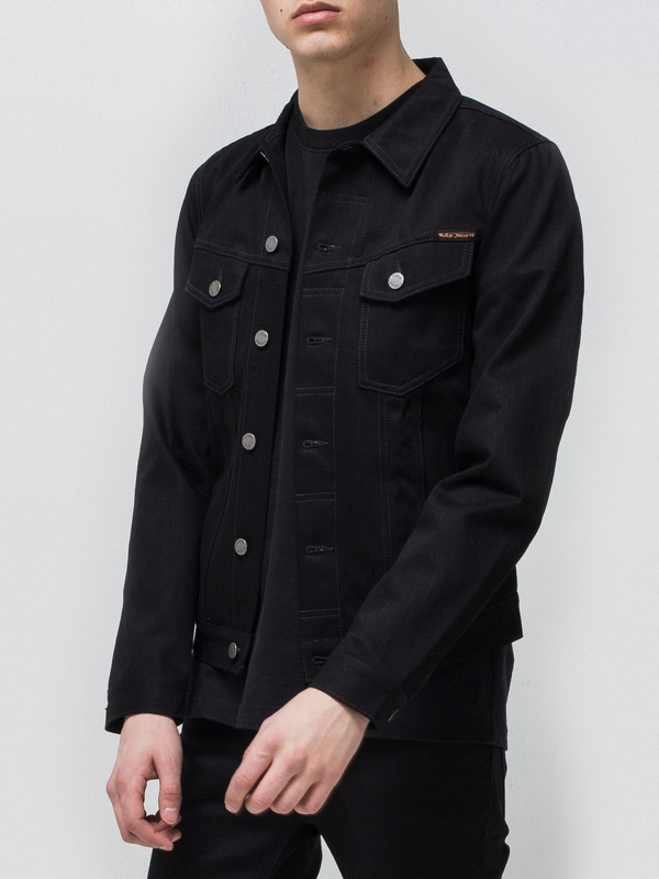 Billy  Dry Black black denim-jackets