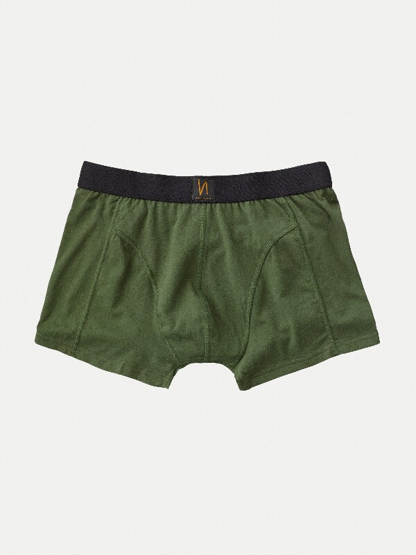 Boxer Briefs Solid Green boxers underwear