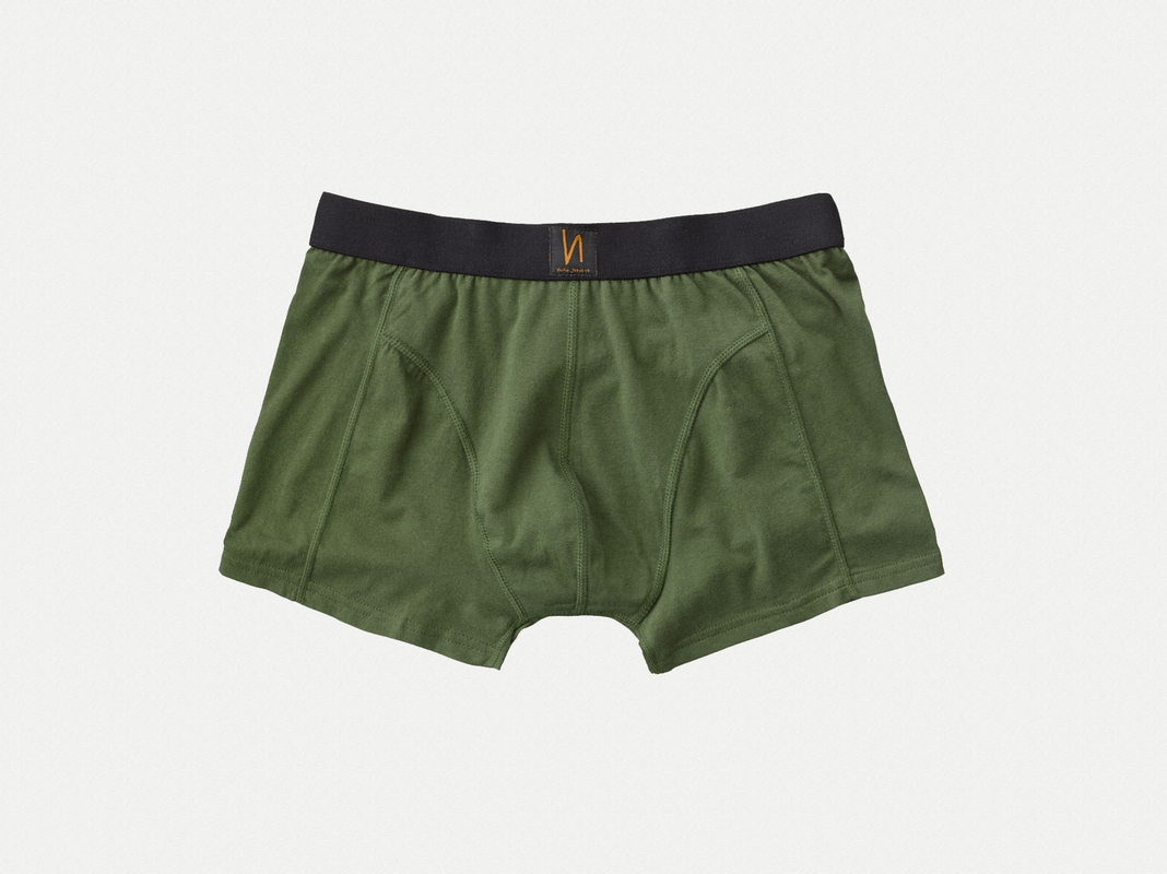 Boxer Briefs Solid Green underwear boxers