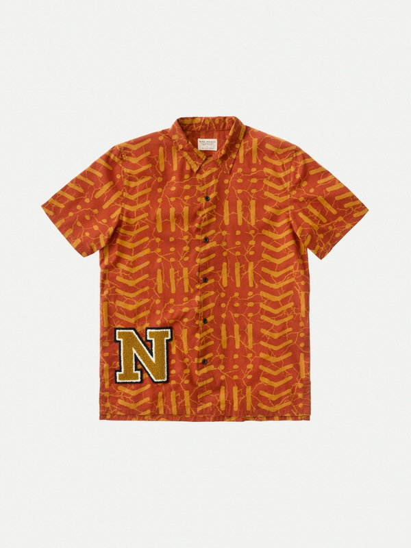 Brandon Batik Terra short-sleeved shirts