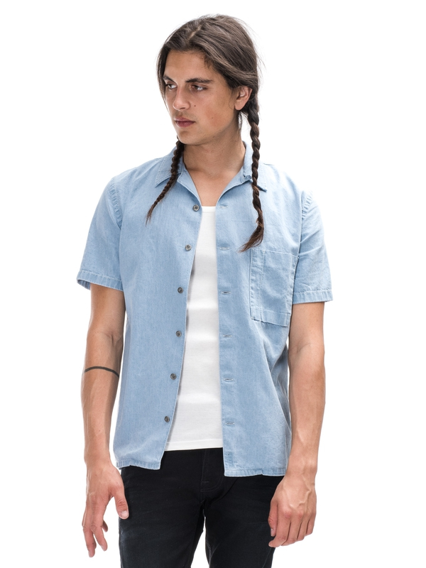 Brandon Heavy Worn In Denim shirts