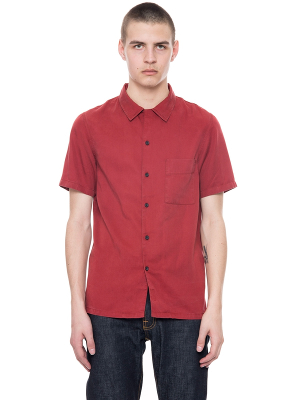 Brandon NJCO Cod Viking Red short-sleeved shirts