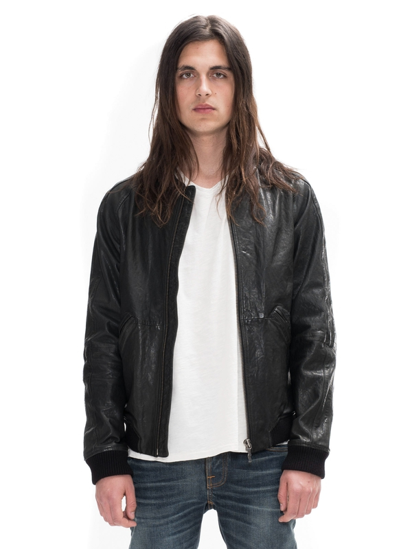 Brook Leather Jacket Black jackets leather-jacket
