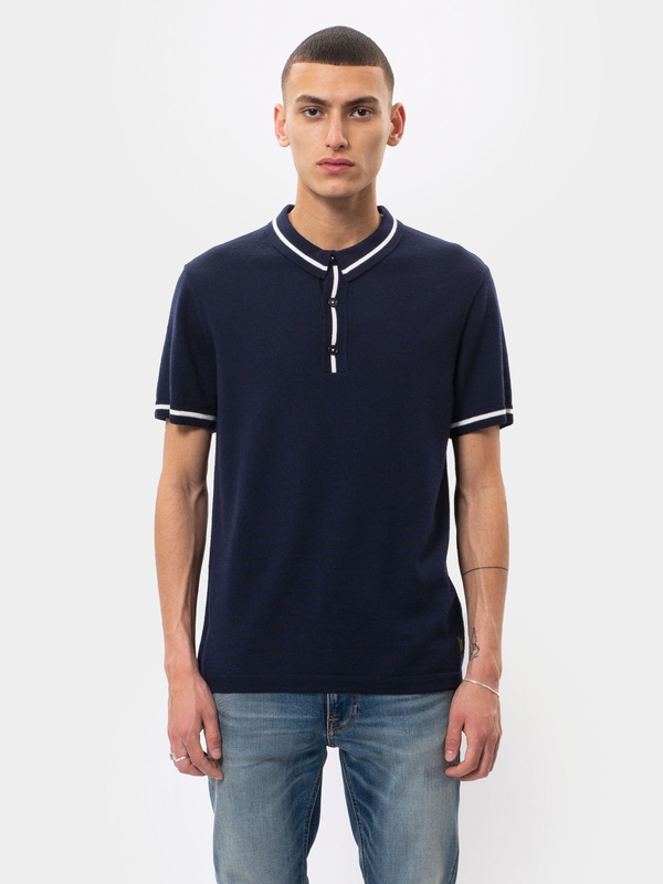 Bror Polo Shirt Navy