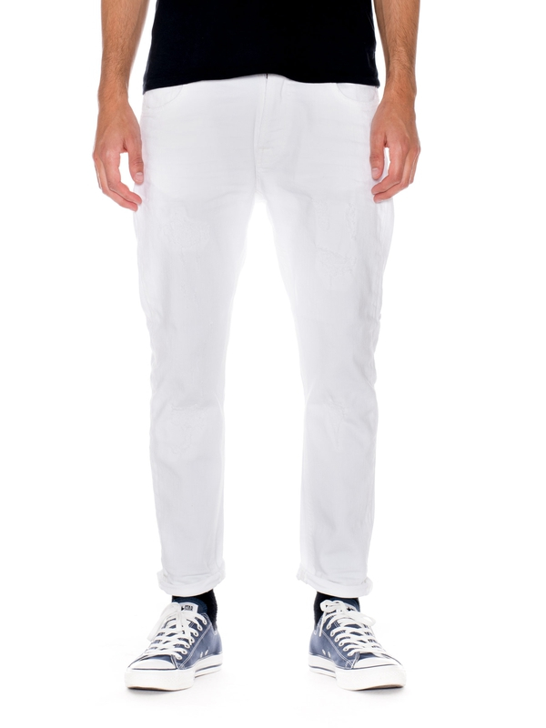 Brute Knut Pitch White prewashed jeans ecru