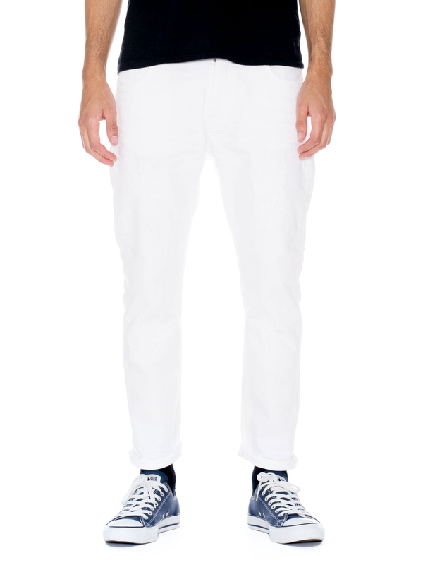 Brute Knut Pitch White prewashed jeans