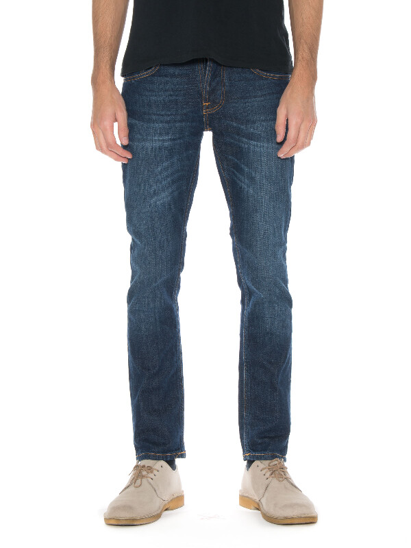 Grim Tim Blue Swede prewashed jeans
