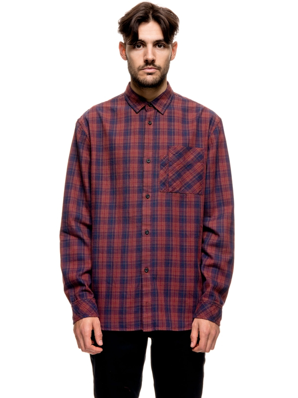 Calle Multicolor Check Ruby long-sleeved shirts