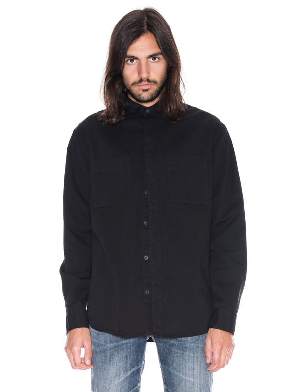 Calle Overdyed Black shirts