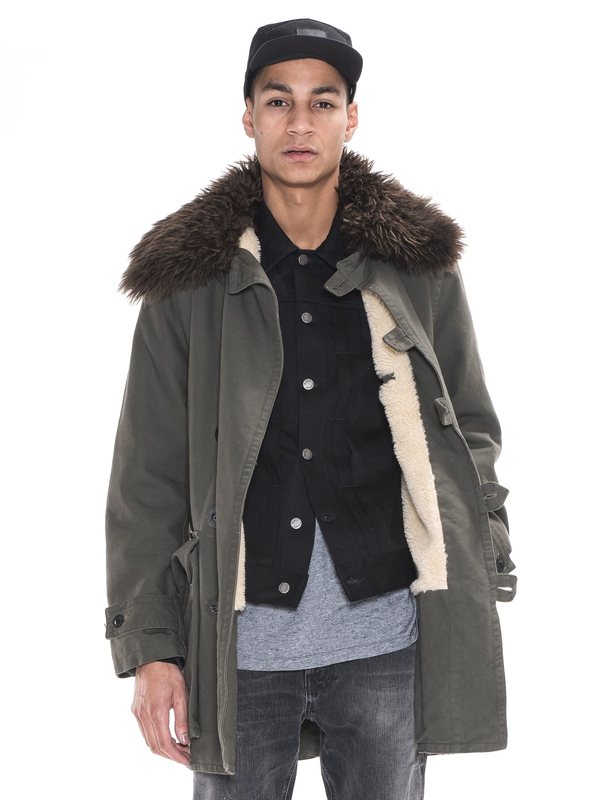 Connor Swedish Army Coat Bunker jackets