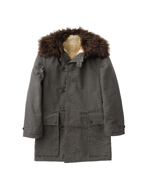 Connor Swedish Army Coat Bunker - Nudie Jeans
