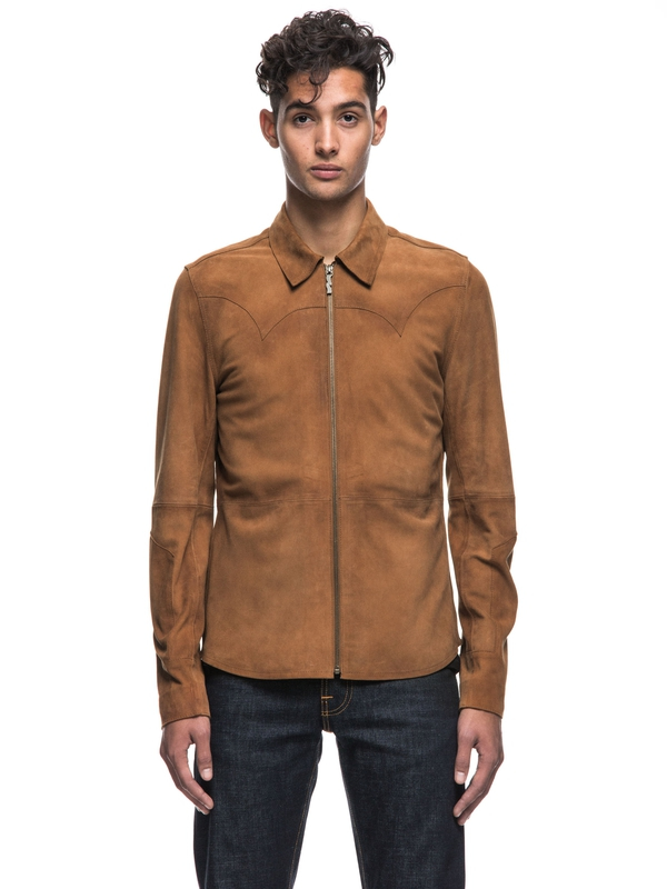 Criss Nubuck Western Lion long-sleeved shirts