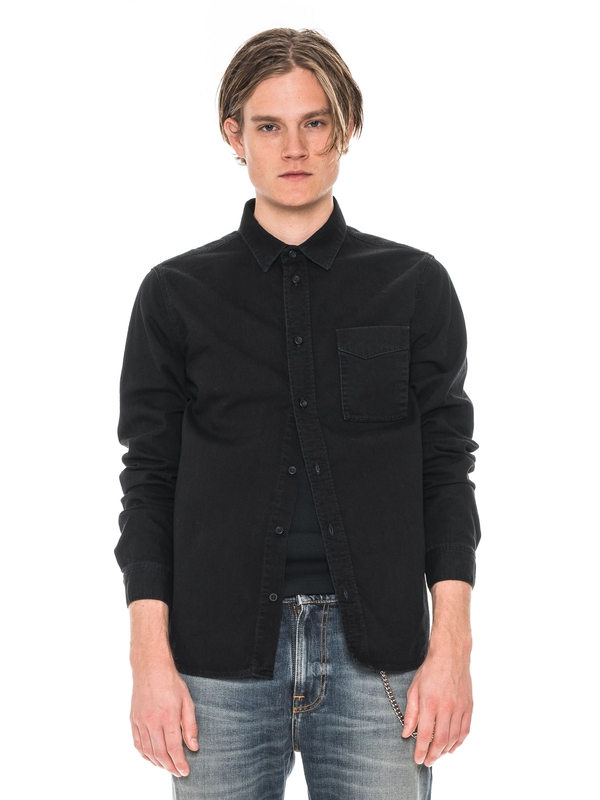 Criss Black Wash Denim shirts