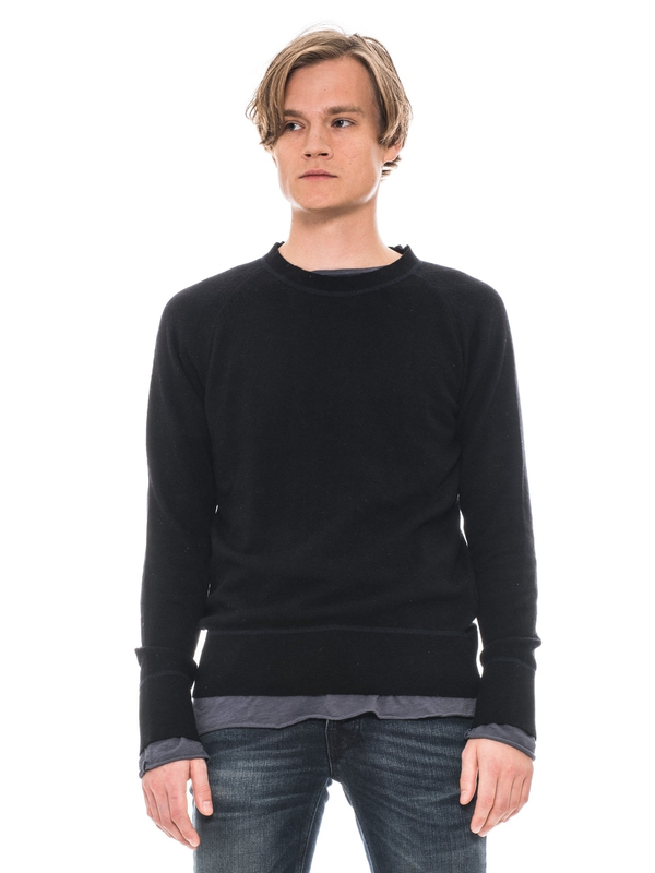 Dag Recycled Wool Black knits