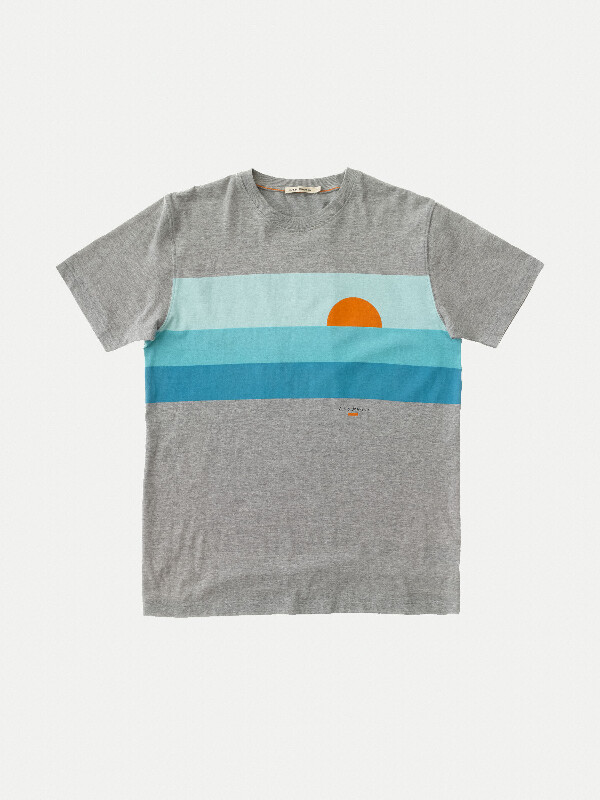 Daniel Aquamarine short-sleeved tees
