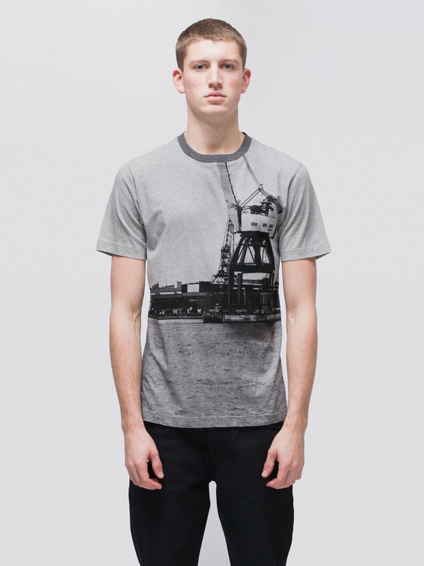 Daniel Gbg Skyline short-sleeved tees printed