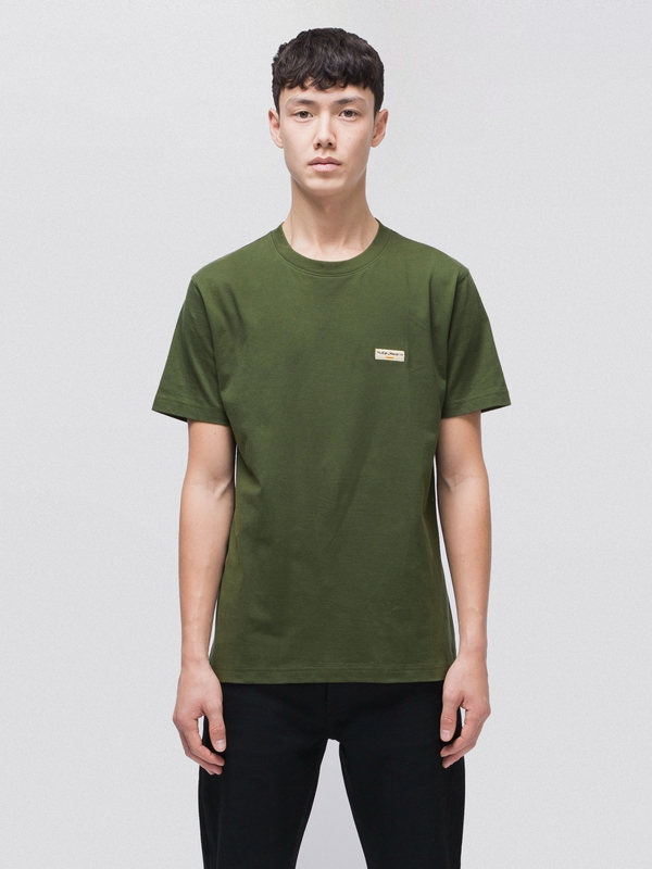 Daniel Logo Tee Lawn short-sleeved tees solid