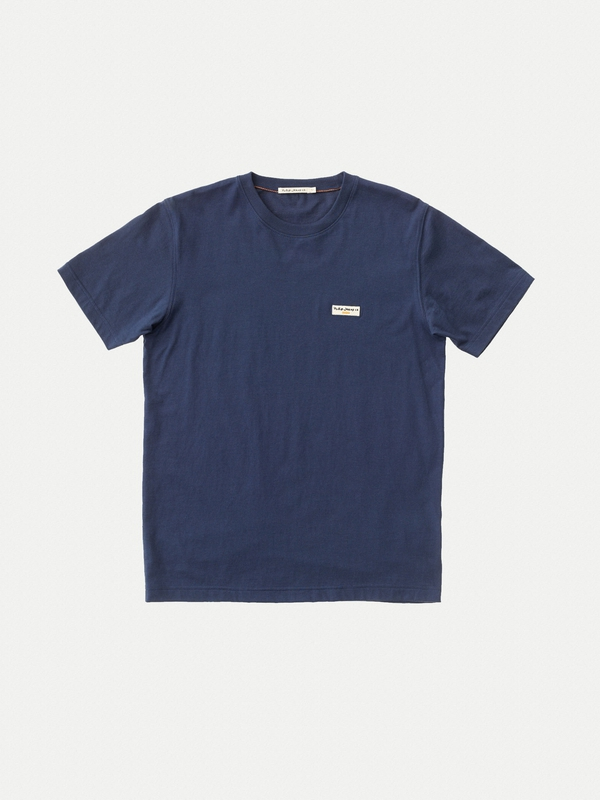 Daniel Logo Tee Midnight short-sleeved tees solid