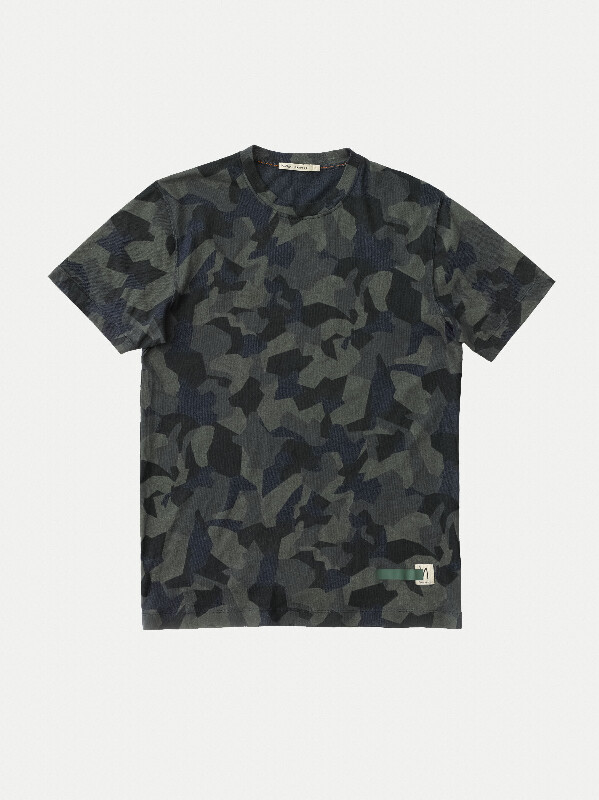 Daniel Printed Camo short-sleeved tees printed