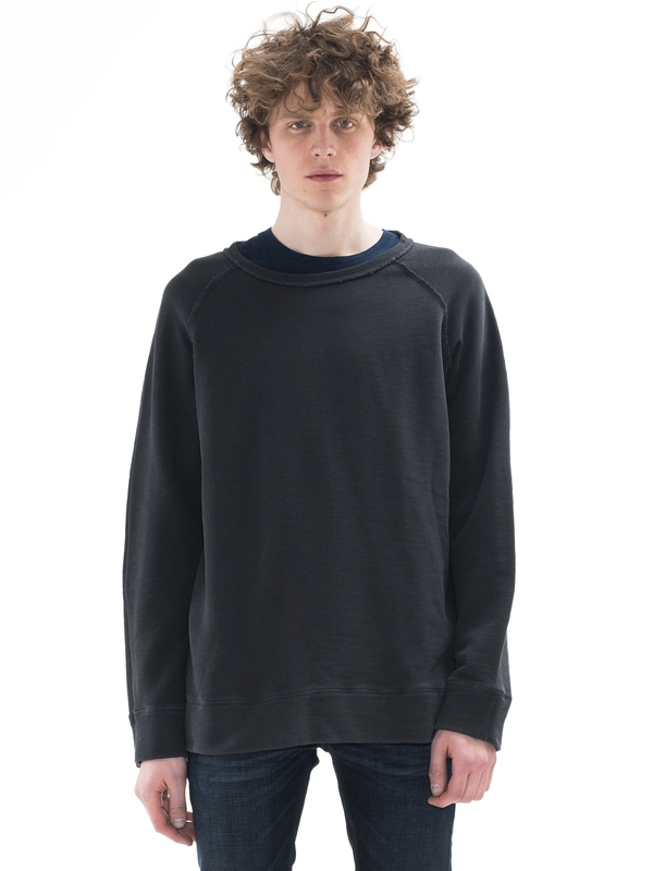 Diego Overdyed Antracite regular sweaters
