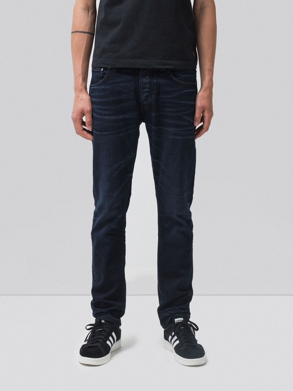 Dude Dan Black On Blue prewashed jeans