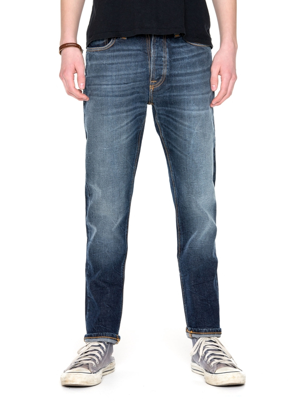 Dude Dan Dark Fuzz prewashed jeans