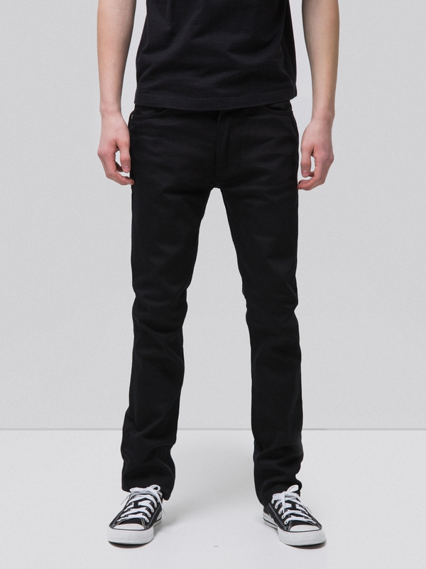 Dude Dan Dry Everblack black jeans