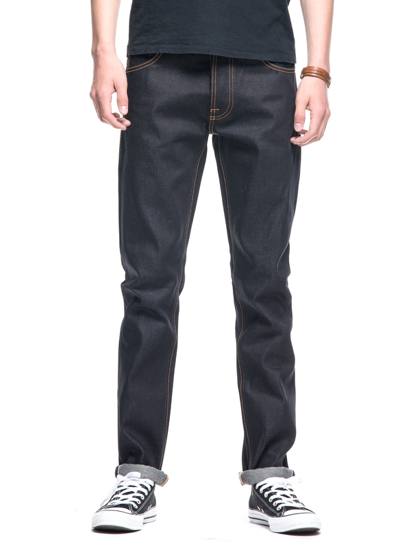 Dude Dan Dry Midnight Selvage dry jeans selvage