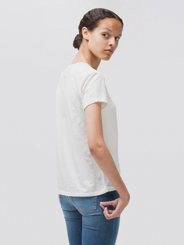 Ebba Top Offwhite short-sleeved tees
