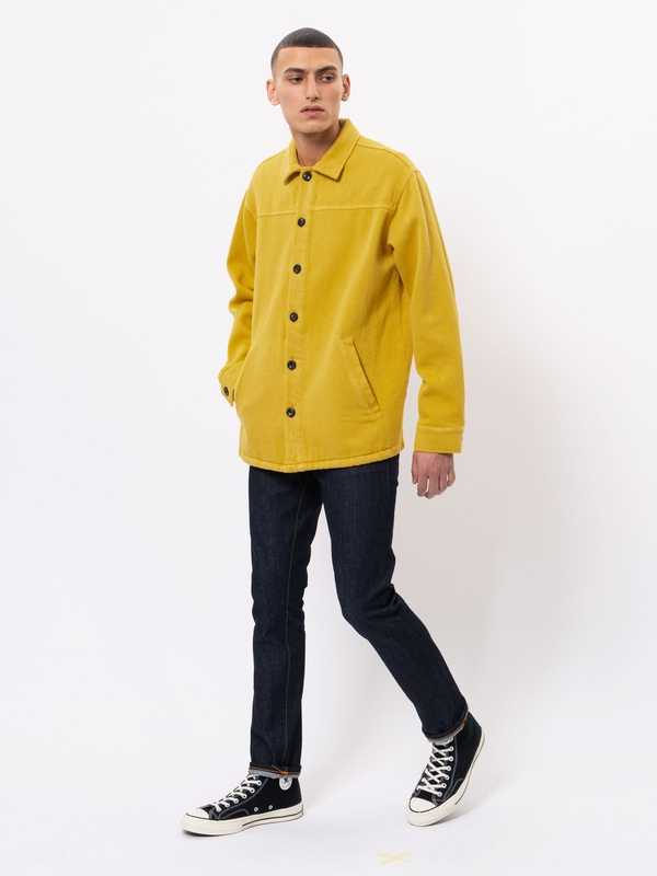 Elias Twill Overshirt Dandelion long-sleeved shirts