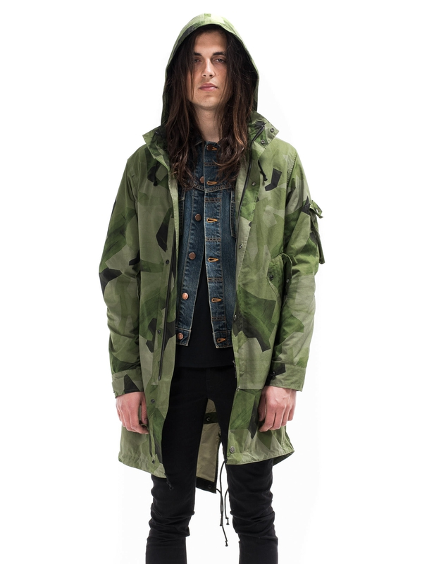 Elliot Parka Camo Green jackets