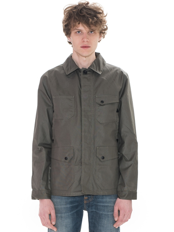 Ethan Waxed Jacket Olive jackets