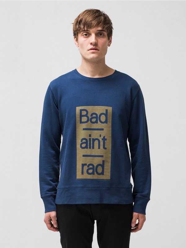 Evert Bad Aint Rad Oden Blue sweatshirts sweaters