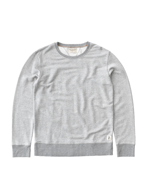 Evert Light Sweatshirt  Greymelange