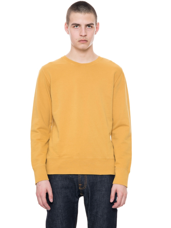 Evert Light Sweatshirt  Royal Yellow sweatshirts sweaters