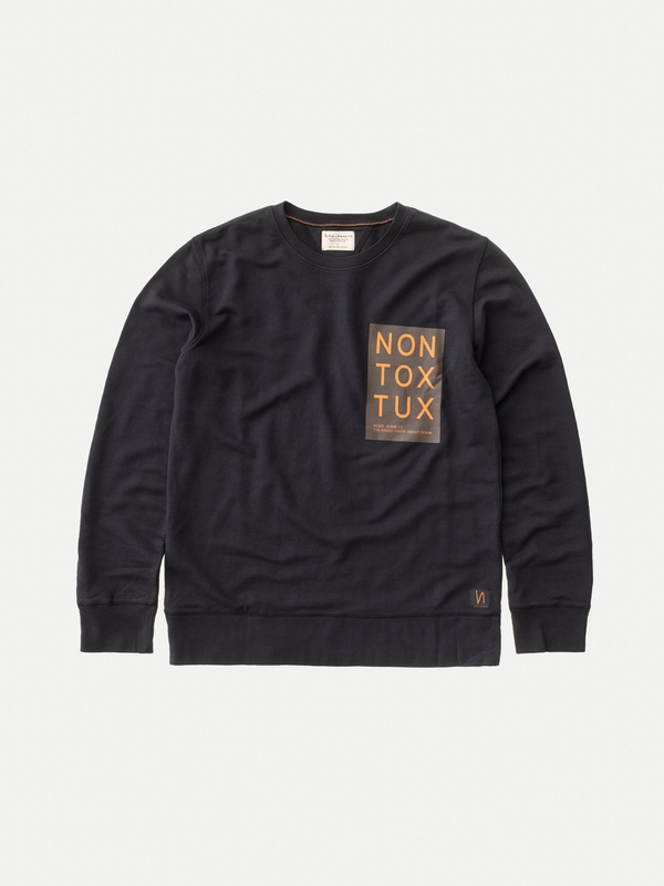 Evert Non Tox Tux Black sweatshirts sweaters